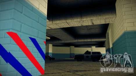 Новый гараж LSPD для GTA San Andreas четвёртый скриншот