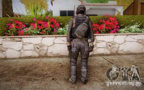 Kick из Call of Duty: Ghosts для GTA San Andreas второй скриншот