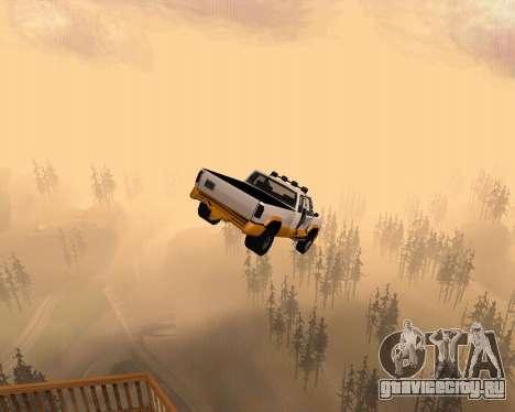 Новый Pickup для GTA San Andreas вид сверху
