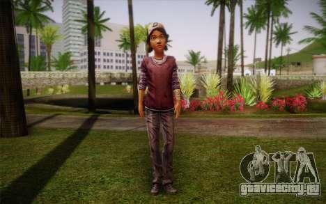 Clementine из The Walking Dead для GTA San Andreas