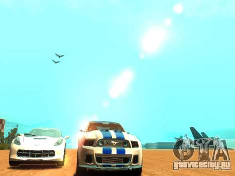 ENBSeries Realistic Beta v2.0 для GTA San Andreas шестой скриншот