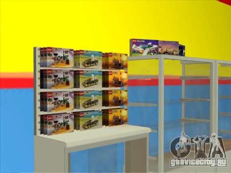Магазин LEGO для GTA San Andreas второй скриншот