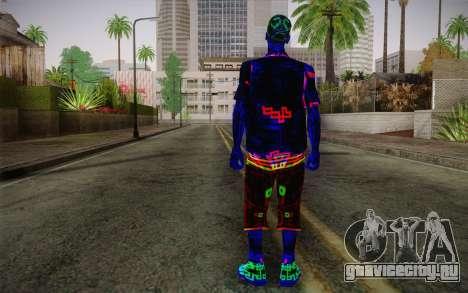 Zero VirusStyle Skin для GTA San Andreas второй скриншот