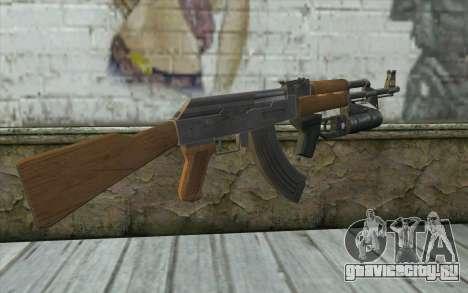 AK47 with GP-25 для GTA San Andreas второй скриншот