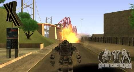 TitanFall Atlas для GTA San Andreas седьмой скриншот
