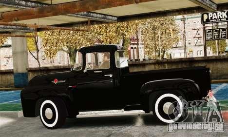 Ford F100 Hot Rod Truck 426 Hemi для GTA 4 вид слева