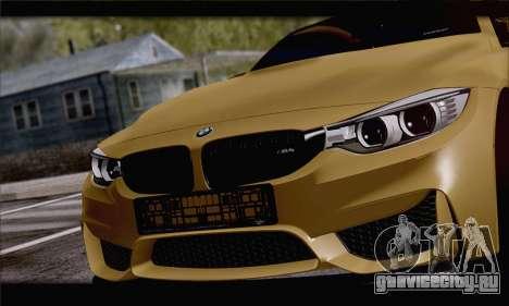 BMW M4 F80 Stanced для GTA San Andreas вид справа