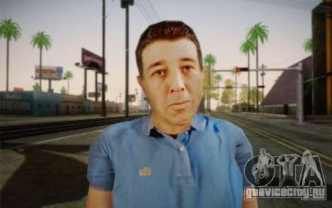 Пожилой мужчина для GTA San Andreas третий скриншот