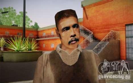 Maddog Skin из The Raid для GTA San Andreas третий скриншот