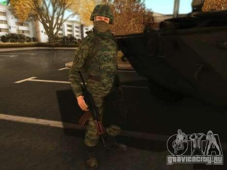 Штурмовик современной Российской Армии для GTA San Andreas третий скриншот