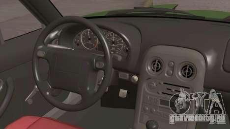 Mazda Miata Hellaflush для GTA San Andreas вид справа