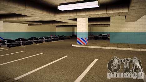 Новый гараж LSPD для GTA San Andreas
