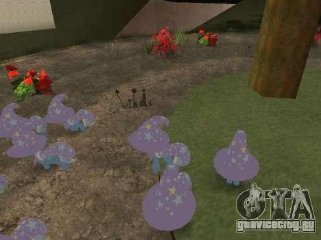 Trixie для GTA San Andreas четвёртый скриншот