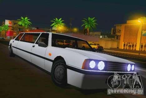 Vincent Limousine для GTA San Andreas