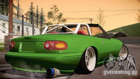 Mazda Miata Hellaflush для GTA San Andreas