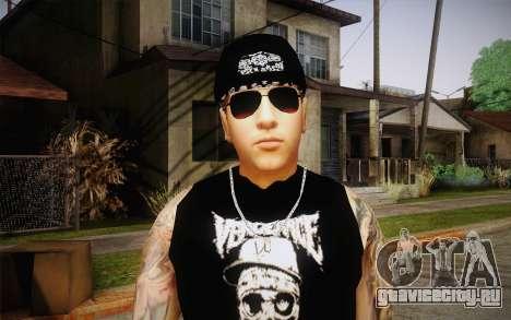 M. Shadows Skin для GTA San Andreas