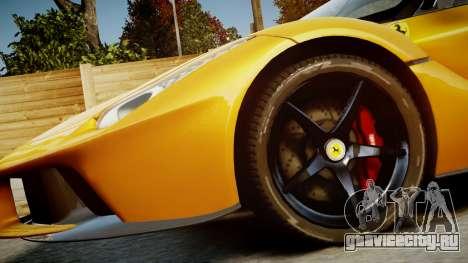 Ferrari LaFerrari v1.2 для GTA 4 вид сбоку