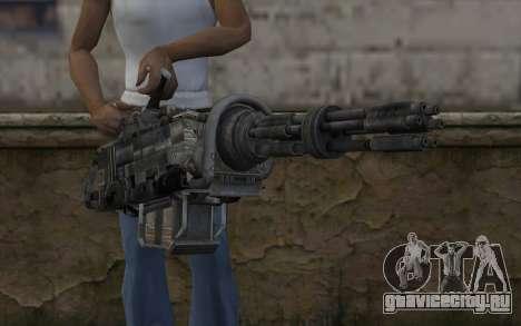 Minigun из Fallout для GTA San Andreas третий скриншот
