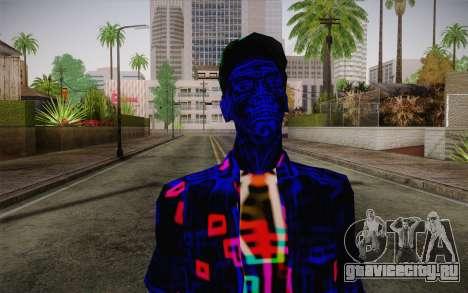 Zero VirusStyle Skin для GTA San Andreas третий скриншот