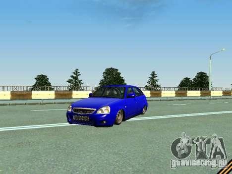 Ваз 2172 для GTA San Andreas вид сверху