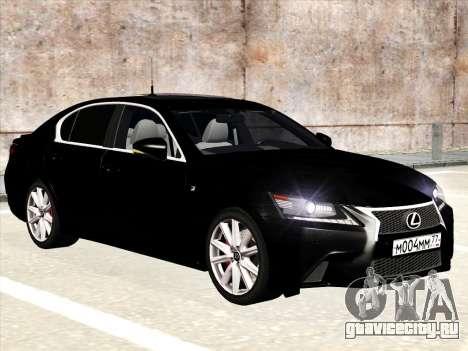 Lexus GS350F Sport для GTA San Andreas