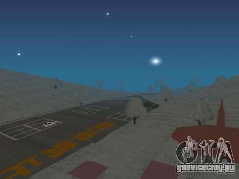 SinAkagi Snow Дрифт трасса для GTA San Andreas