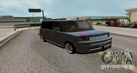 Toyota BB для GTA San Andreas