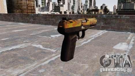 Пистолет FN Five-seveN Fall для GTA 4 второй скриншот