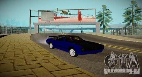 New Stallion для GTA San Andreas вид справа
