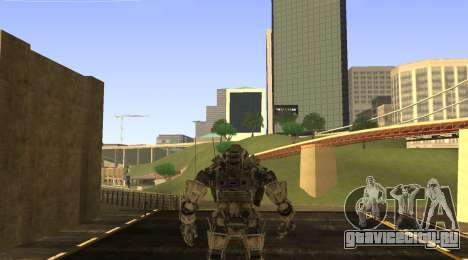 TitanFall Atlas для GTA San Andreas второй скриншот