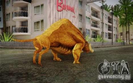 Sirian Werebull для GTA San Andreas второй скриншот