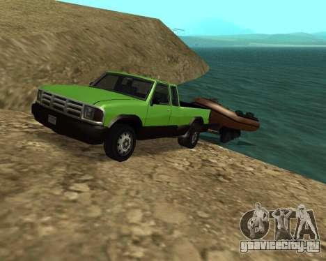 Новый Pickup для GTA San Andreas салон