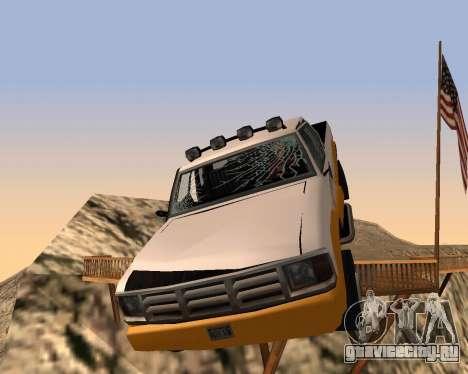 Новый Pickup для GTA San Andreas вид снизу