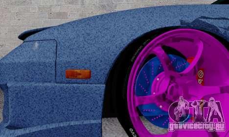 Nissan 240SX для GTA San Andreas вид снизу