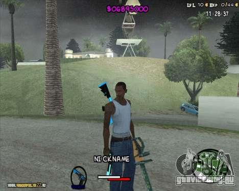 HUD by Romka MC для GTA San Andreas второй скриншот