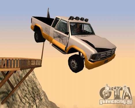 Новый Pickup для GTA San Andreas вид сбоку