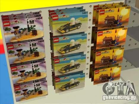 Магазин LEGO для GTA San Andreas пятый скриншот