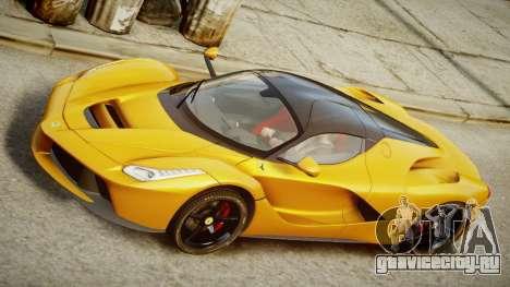 Ferrari LaFerrari v1.2 для GTA 4 вид сзади слева