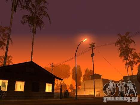 Beta Timecyc для GTA San Andreas третий скриншот
