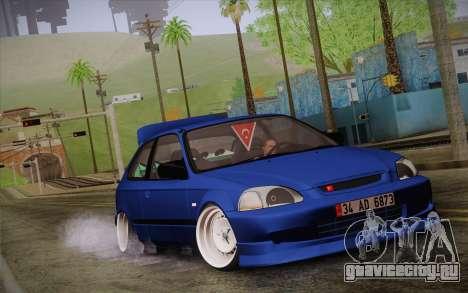 Honda Civic 1.4 BS Garage для GTA San Andreas
