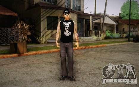 M. Shadows Skin для GTA San Andreas второй скриншот