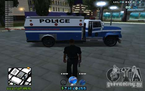 C-HUD by Mr.Riko для GTA San Andreas