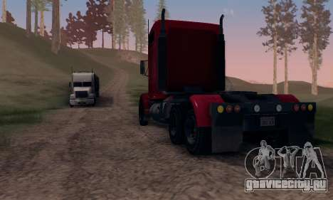 GTA V Packer для GTA San Andreas вид сзади
