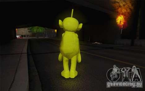 Диспи из телепузиков для GTA San Andreas второй скриншот