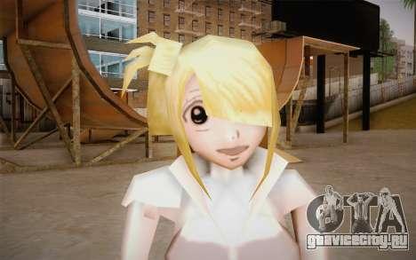 Lucy Heartfilia для GTA San Andreas третий скриншот