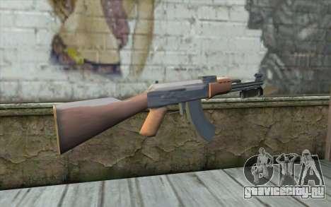 AK47 со штыком для GTA San Andreas второй скриншот