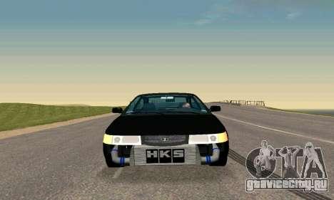 ВАЗ 21123 TURBO-Кобра v2 для GTA San Andreas вид сзади