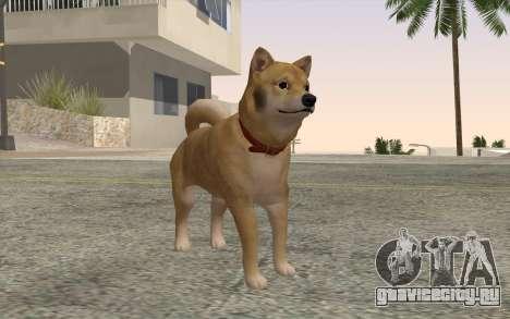 Собака для GTA San Andreas