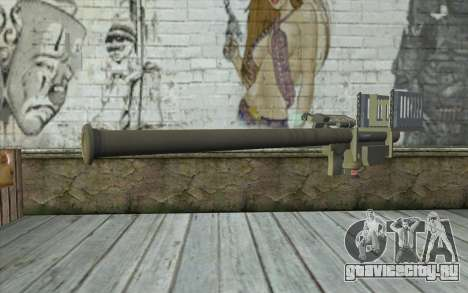 FIM-92 Stinger для GTA San Andreas второй скриншот