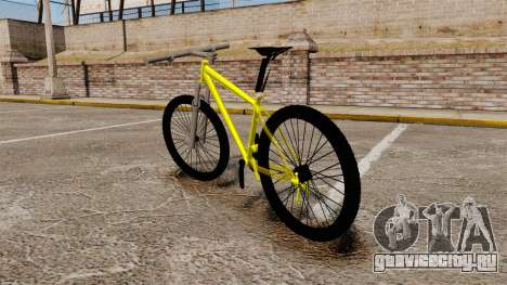 GTA V Mountain Bike для GTA 4 вид сзади слева